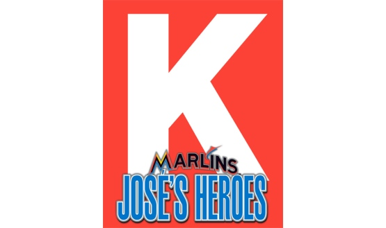 K Card strikeout Jose Fernandez
