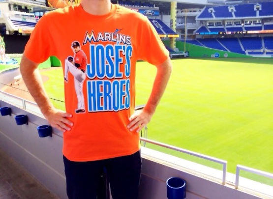Jose's Heroes Tshirt April Marlins