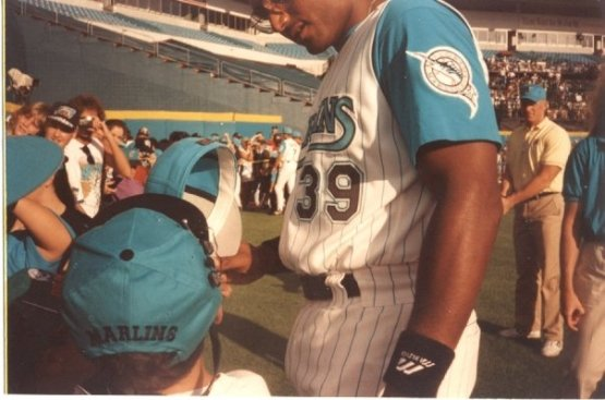 1994 Marlins Photo Day Season Ticket Holder
