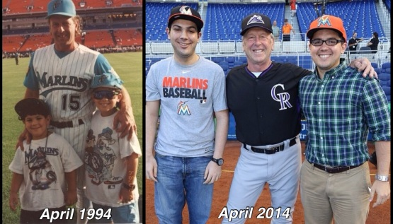 1994 - 2014 Marlins Photo Recreation