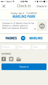 At The Ballpark App Marlins
