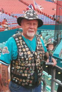 The Pin Man Miami Marlins Florida Marlins