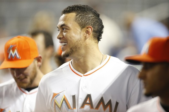 Sending baseballs into orbit -- it's what Giancarlo does