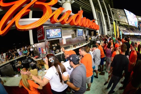 Marlins Park Happy Hour Budweiser