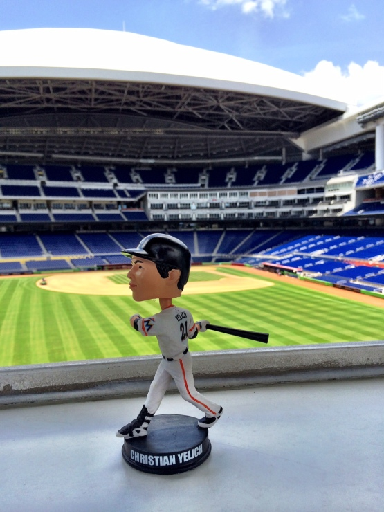 Christian Yelich bobblehead Miami Marlins