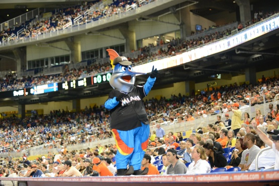 Billy the Marlin Marlins Park