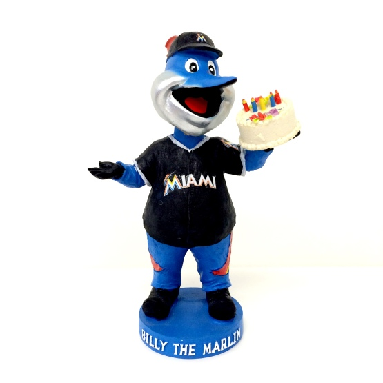 Billy the Marlin birthday Marlins Park