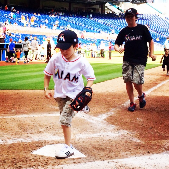 Diamond Dash Marlins Park