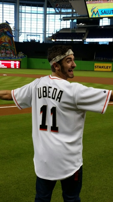 Ricky Ubeda So You Think You Can Dance Miami Marlins
