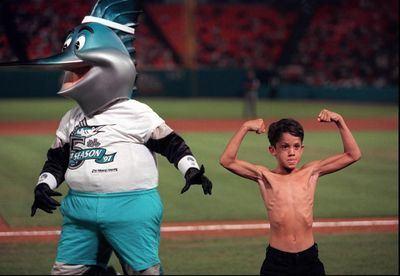 Muscle Boy Florida Marlins