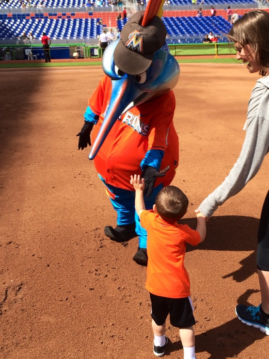 Billy The Marlin at Diamond Dash