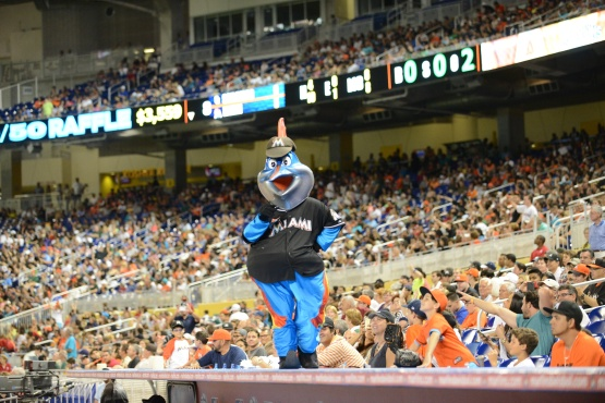 Billy The Marlin Miami Marlins