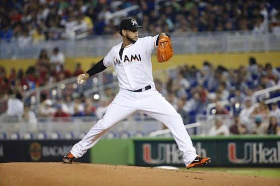 Henderson Alvarez Miami Marlins