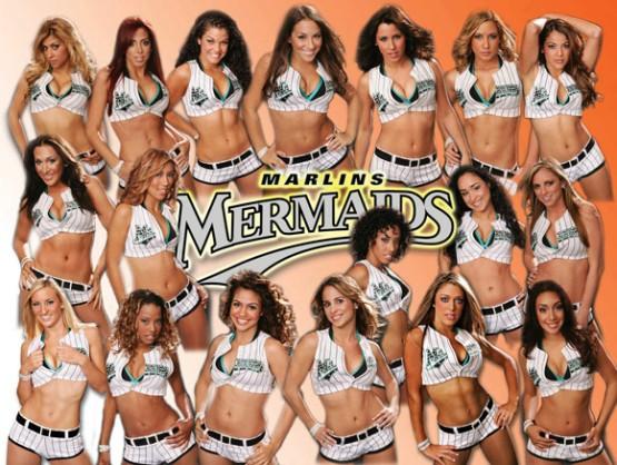 marlins mermaids