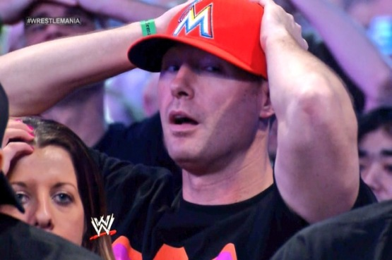 #MarlinsHatGuy - Miami Marlins Fan - WWE