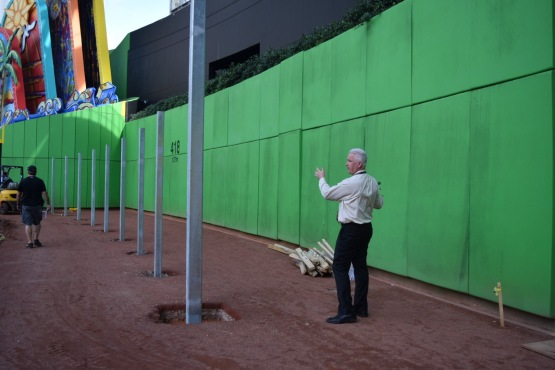 Marlins Park Fences - Claude Delorme - Miami Marlins