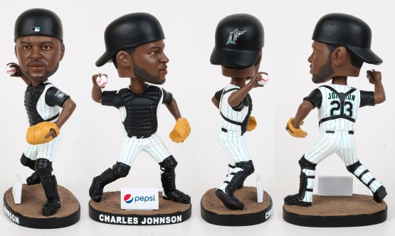 Marlins Giveaway Charles Johnson marlins.com