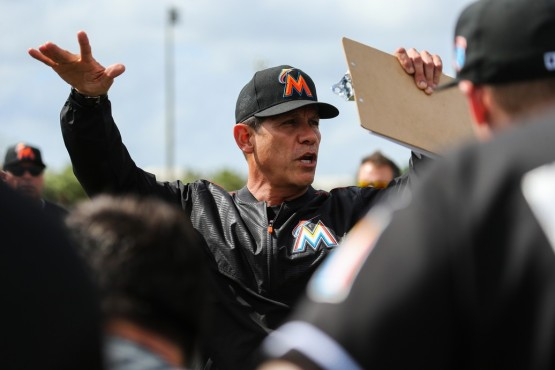Miami Marlins Pitching Coach Juan Nieves