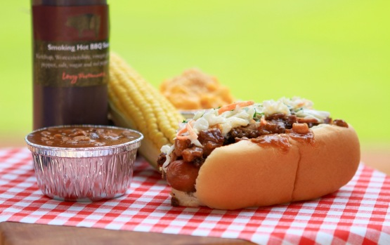 BBQ Picnic Dog at Marlins Park