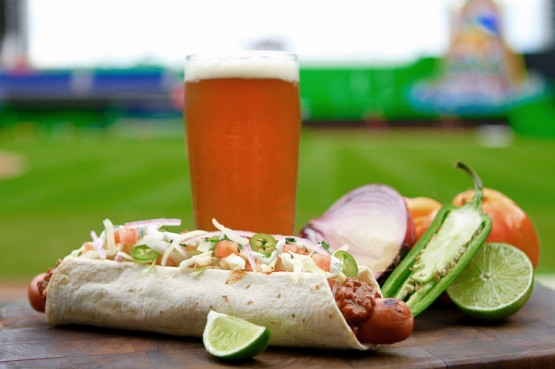 Miami Mex Dog at Marlins Park
